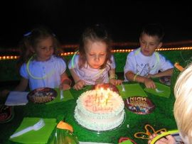 Ashley's 5th Birthday Celebrations!