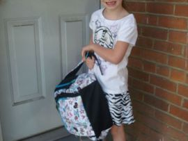 Ash's first day of 1st Grade!