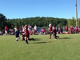 Amelia's First Soccer Game & Goal