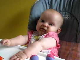 Keira does not like green beans...